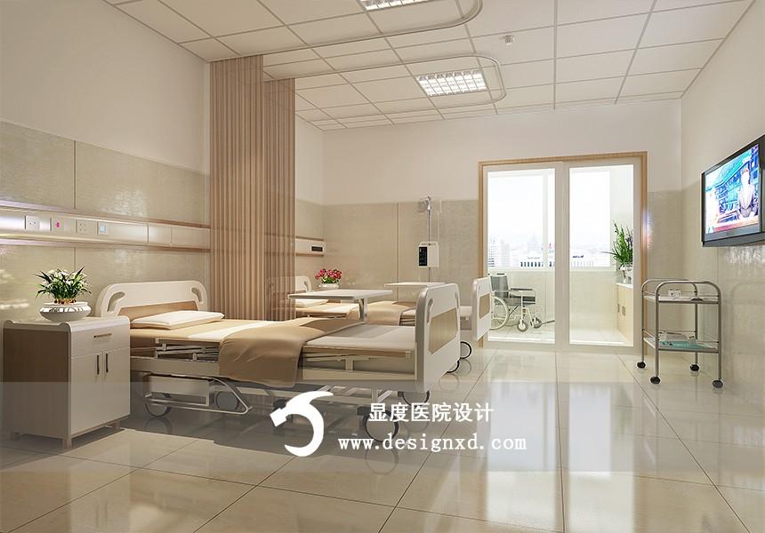 医院室内设计_余干东信医院装修设计_显度医院设计