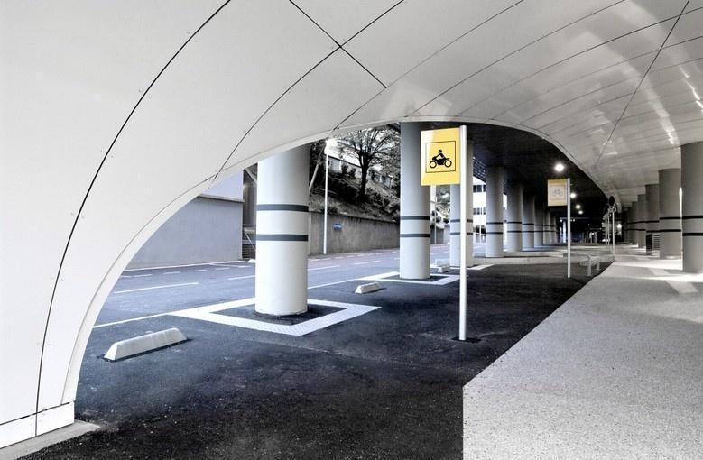 新葡京娱乐停车场设计效果图